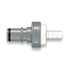 55 Series Quick Connect Couplings Male Valved Straight